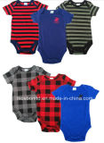 디자인 한국 형식 Wondersuits 새로운 장난꾸러기 신생 아기 Bodysuit 면 아기 장난꾸러기 세트