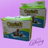 Almofadas absorventes super do filhote de cachorro/animal de estimação (LCOD-007)