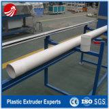 Línea plástica tubo de agua del PVC que hace la máquina