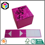 Складывая коробка бумажного косметического дух картона упаковывая