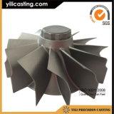 Het Wiel van de Turbine van Inconel 713c/Inconel713LC voor Voortbewegings en Mariene Turbocompressor wordt gebruikt die