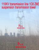 Riga di trasmissione di Megatro 110kv torretta della trasmissione della sospensione di 1c6 Zm3