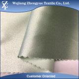 ткань 100% сатинировки полиэфира 75D водоустойчивая тускловатая для платья/одежды