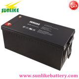 Batterij 12V200ah van het Gel van het onderhoud de Vrije Zonne voor het ZonneSysteem van het Huis