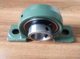 Insertar el rodamiento de bolitas con el bloque de almohadilla del rodamiento de la cubierta Ucp214