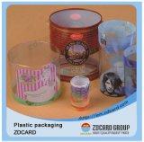 PVC/PP/Pet que empacota a caixa plástica desobstruída para o presente