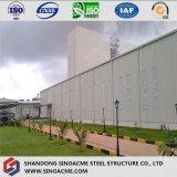 Construction en acier pour la structure d'ensemble industriel