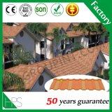 Строительный материал высокого качества Гуанчжоу, плитка крыши металла цветастого алюминиевого камня стальной плиты цинка Coated