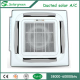 Tipo de suporte de piso Hybrid Vacuum Tube Solar Assisted Air Conditioner