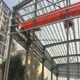 1000 metri quadri della struttura d'acciaio di metallo di gruppo di lavoro stabile di montaggio con la gru