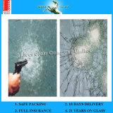 verre feuilleté de 3-19mm, glace Tempered des prix en verre à l'épreuve des balles avec AS/NZS2208 : 1996