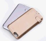 Côté de pouvoir de cas de chargeur de batterie de téléphone cellulaire pour l'iPhone