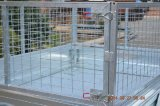 Mesh Cage를 가진 Galvanized Hotdip 정원 7X5 Tipper Box Trailer