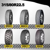 [رديل] كلّ فولاذ 315 80 [ر] 22.5 شاحنة إطار, مزدوجة طريق إطار العجلة