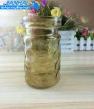 Vaso di fiore di vetro variopinto di vendita calda per la decorazione di bellezza