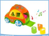 Car elettrico Educational Toys con Music e Education Blocks Toys