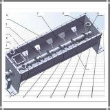 Puder-Mischer-Maschine des Labor50-300l kontinuierliche