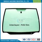 película Polyvinyl verde cheia do Butyral PVB de 0.76mm F para o vidro do pára-brisa