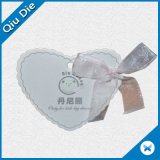Forme spéciale de coeur des étiquettes d'oscillation pour le vêtement/cadeaux/chapeau
