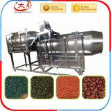 Machine de flottement de nourriture de poissons avec la boudineuse à vis jumelle