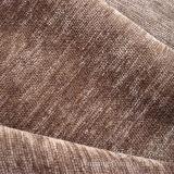 Tissu 100% de Chenille teint de jacquard de fils de polyesters pour le sofa