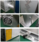 2017 macchina calda della marcatura del laser della fibra di vendita 20W 30W 50W per la scheda /Key /Ring di identificazione del PVC/cassa del telefono/la stampante a laser Della pistola
