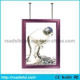 Doppelter dünner heller Kasten des Seiten-Abbildung-Bildschirmanzeige-Aluminium-LED