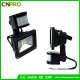 Luz de inundación estable de la calidad PIR Sensor30W LED
