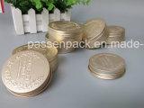 Анодированная золотистая алюминиевая чонсервная банка с выбивать (PPC-ATC--064)