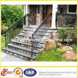 中国の工場卸売の錬鉄のIndoor&Outdoor階段柵
