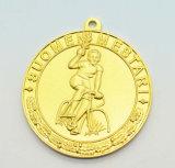 Медаль пожалования почетности высокого качества изготовленный на заказ вероисповедное с тесемками