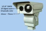 日夜長距離視野の監視カメラ
