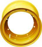 Оправа миниого затяжелителя 16 дюймов стальная для сбывания 10.00f-16 на размер 20.5-16 покрышки