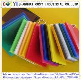 도매 높은 광택 색깔 투명한 플라스틱은 아크릴 장 가격을 던졌다