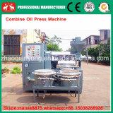 Cacahuete automático, prensa de petróleo de la cosechadora del Jatropha con el filtro de petróleo
