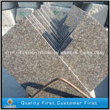 Natural G682 / Black / G664 / G654 / Pearl White Granito Outdoor / Indoor Flooring Tiles