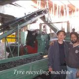 Máquina de recicl de borracha recuperada da maquinaria do pó Xkp450 pneumático de borracha para o pneumático usado