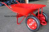 78 litros 5 carrinho de mão de roda Wb7500 de Cbf com a roda do sólido 13X3