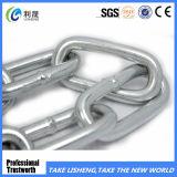 中国の製造者によって溶接されるリンク・チェーンか長いリンク・チェーンまたは鋼鉄リンク・チェーンの工場