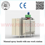 Powder manuale Coating Machine in Powder Coating Line