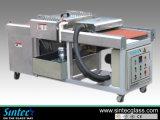 Máquina automática de cristal grande y de tamaño mediano horizontal de la limpieza