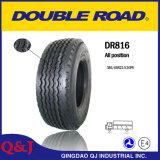 Doble carretera Dr816 pesada radial de neumáticos para camiones, neumáticos del remolque (385 / 65R22.5)
