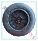 16X6.5-8広いセクションPUの泡のタイヤ固体手のトロリー車輪