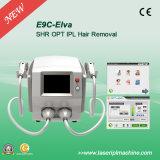 A máquina permanente portátil da remoção do cabelo de E9c Opt Shr IPL
