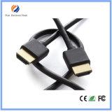 HDMI 케이블에 5m 2160p HDMI 2.0 케이블 4k*2k 금에 의하여 도금되는 HDMI