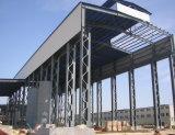 Bouw van het Pakhuis van de Bouw van de Structuur van het staal de Logistische