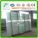 vidrio laminado claro/coloreado de 4.38mm-25.52m m de PVB de la película con el CCC