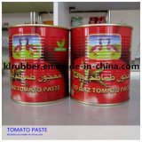 venda quente pasta de tomate 70g-4500g enlatada com HACCP
