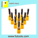 Festes Carbide Flat Ende Mill Cutter für Metal Cutting mit Altin Coating
