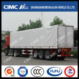 Cimc Huajun Hot Sale Van/Box Semi Trailer mit Side Curtaiin